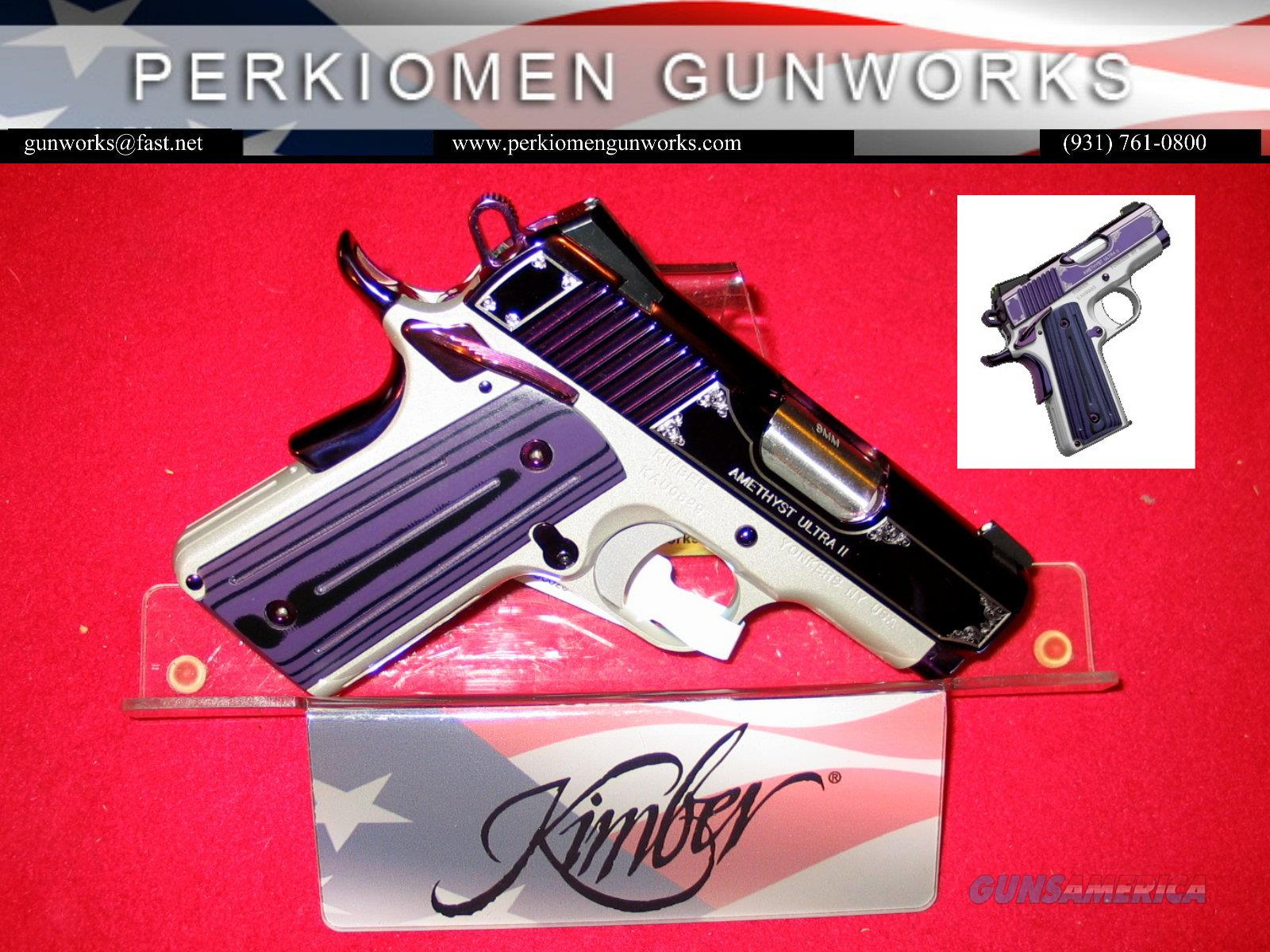 "Amethyst Ultra II, 9mm, 3"", Limited Edition, New in Box  Guns > Pistols > Kimber of America Pistols"