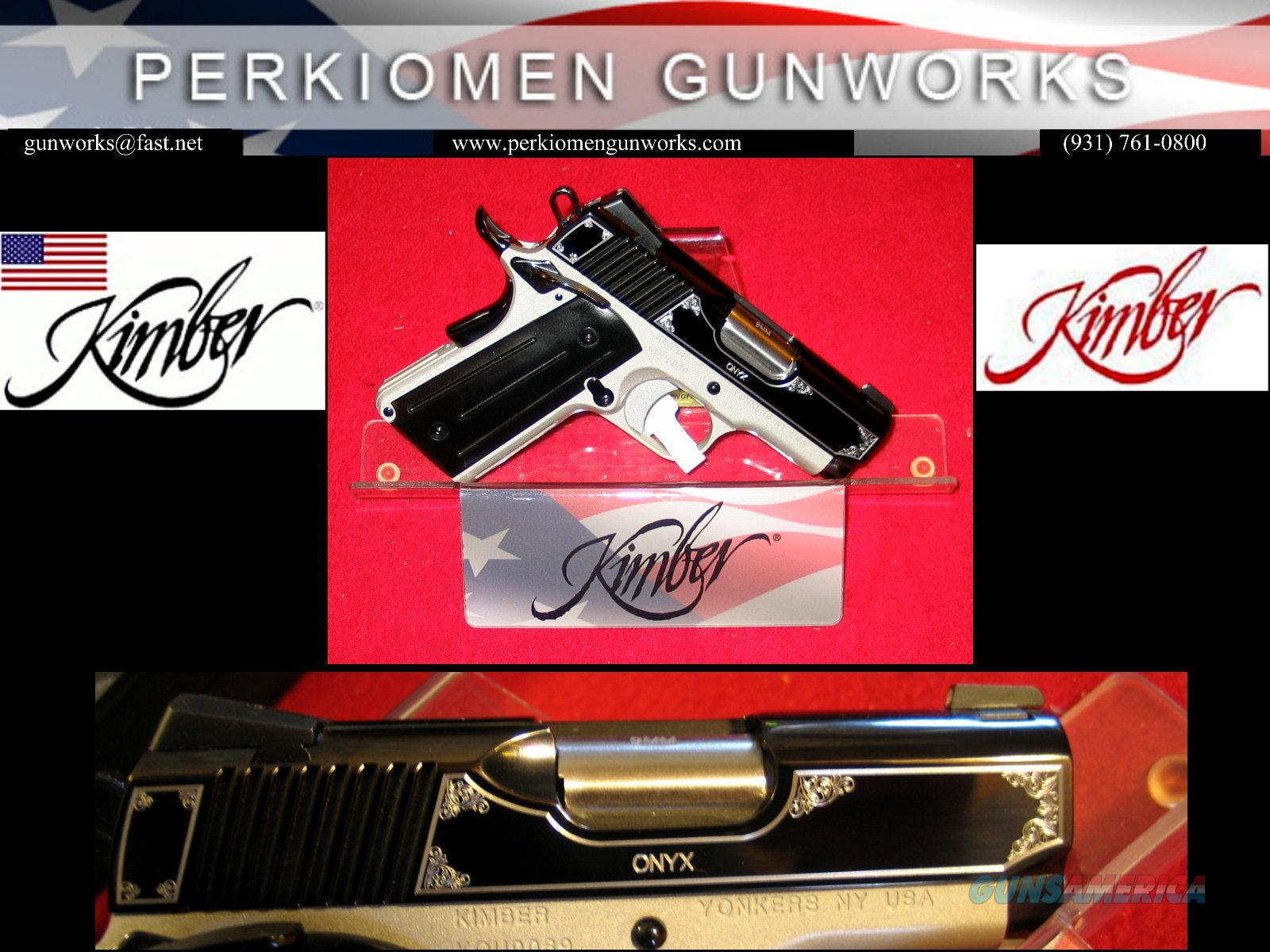 "ONYX Ultra 9MM, 3"", New in Box, #3200308 / Close-out Special  Guns > Pistols > Kimber of America Pistols"