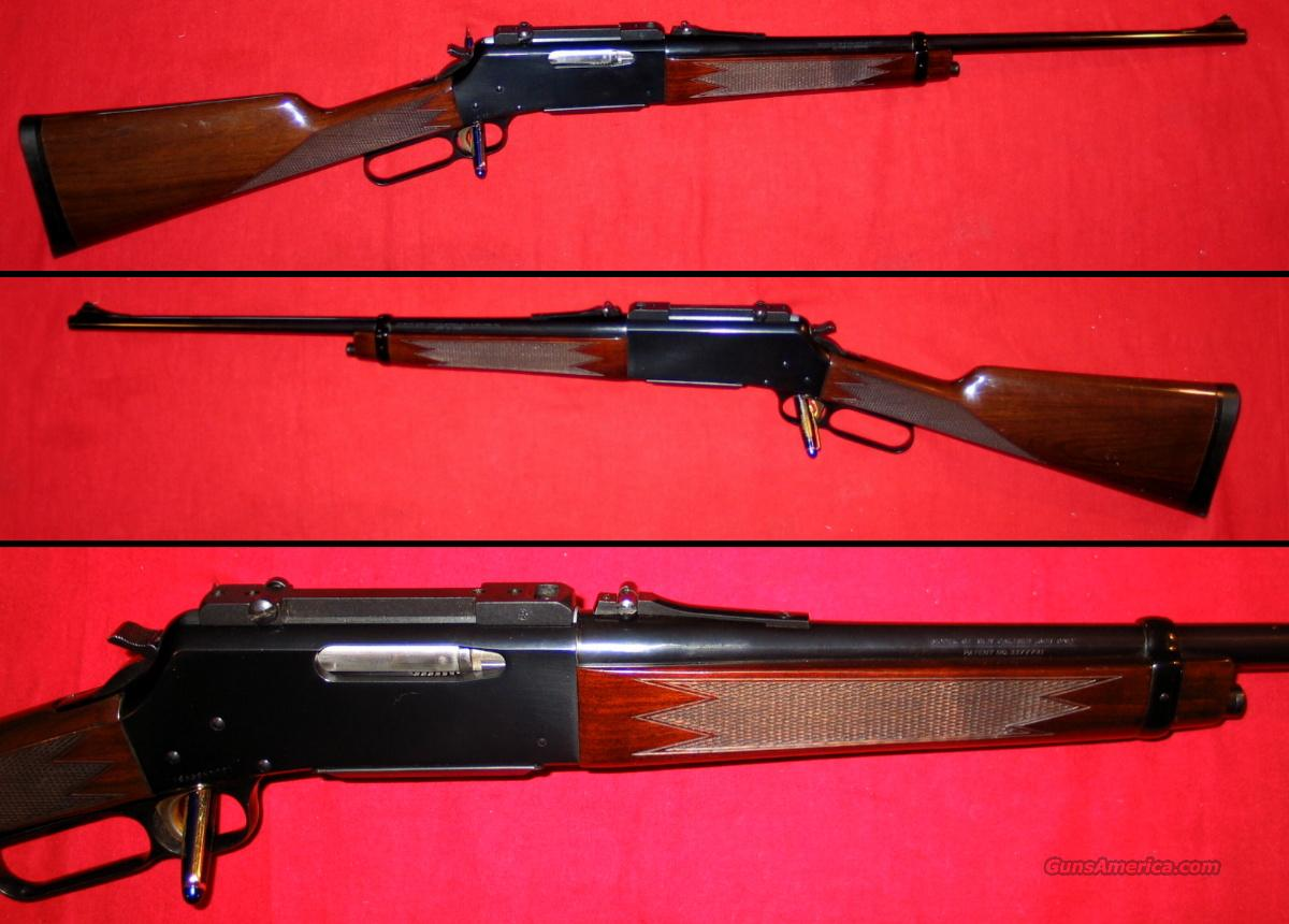 81 BLR .308 1990 All Steel model  Guns > Rifles > Browning Rifles > Lever Action