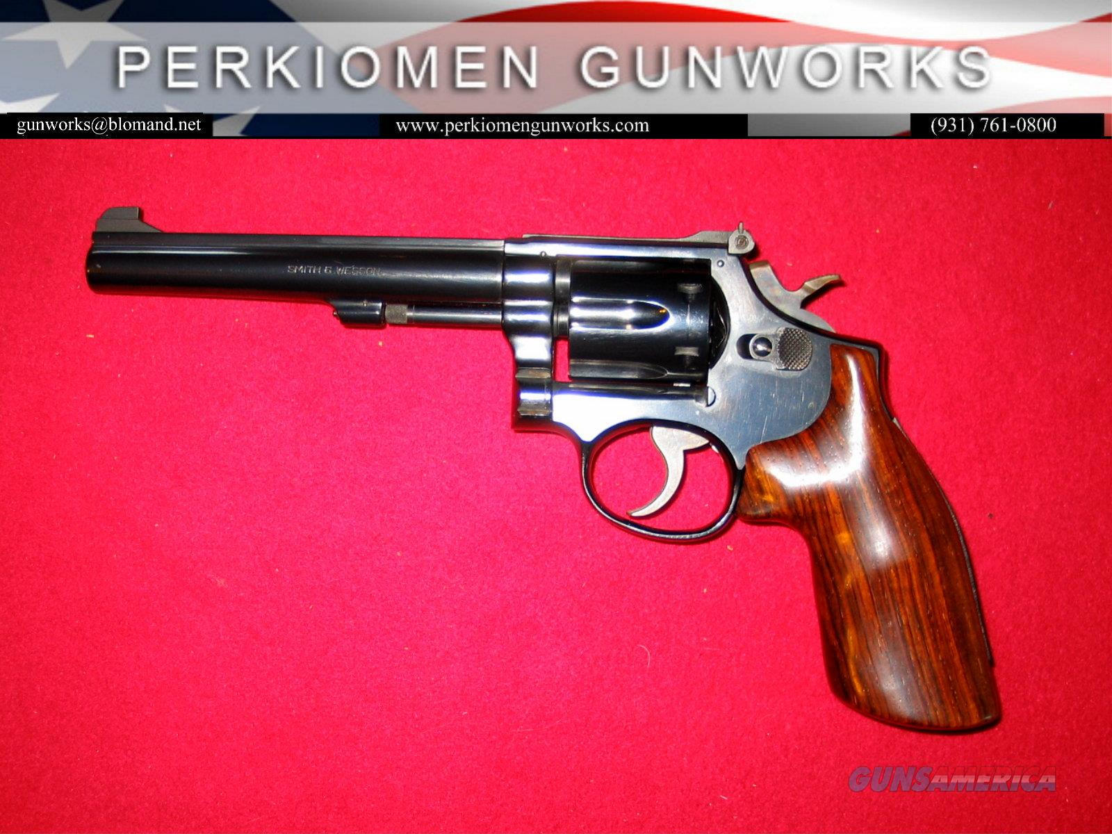"48-2, ""The K-22 Masterpiece Magnum Rimfire"", 6 inch, .22 Mag  Guns > Pistols > Smith & Wesson Revolvers > Med. Frame ( K/L )"
