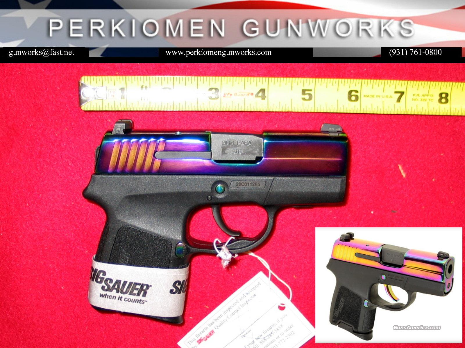 290RS-9mm-Rainbow - New in Box w/extras  Guns > Pistols > Sig - Sauer/Sigarms Pistols > P290