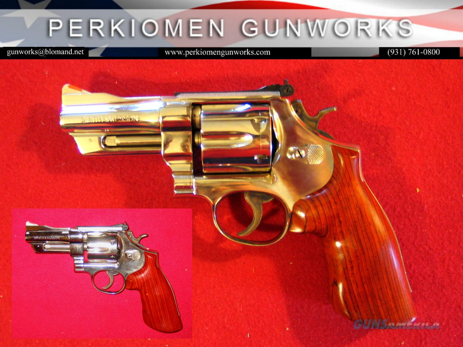 27-2 Nickel, 3 1/2 inch .357mag.  Guns > Pistols > Smith & Wesson Revolvers > Full Frame Revolver