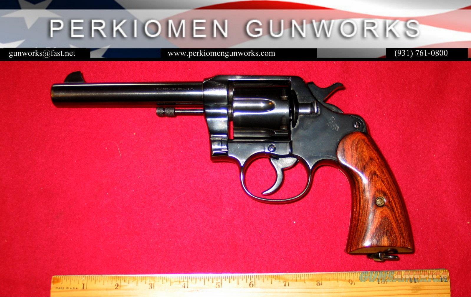 Colt New Service .38-40, 5.5 inch  Guns > Pistols > Colt Double Action Revolvers- Pre-1945