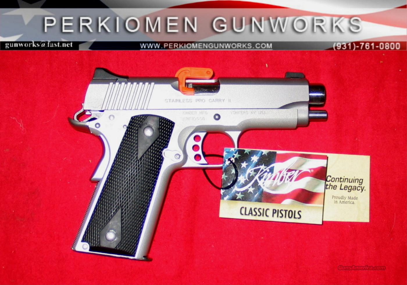 "Stainless Pro Carry 9MM, 4"", New in Box  (Retirement - Closeout pricing.)  Guns > Pistols > Kimber of America Pistols"
