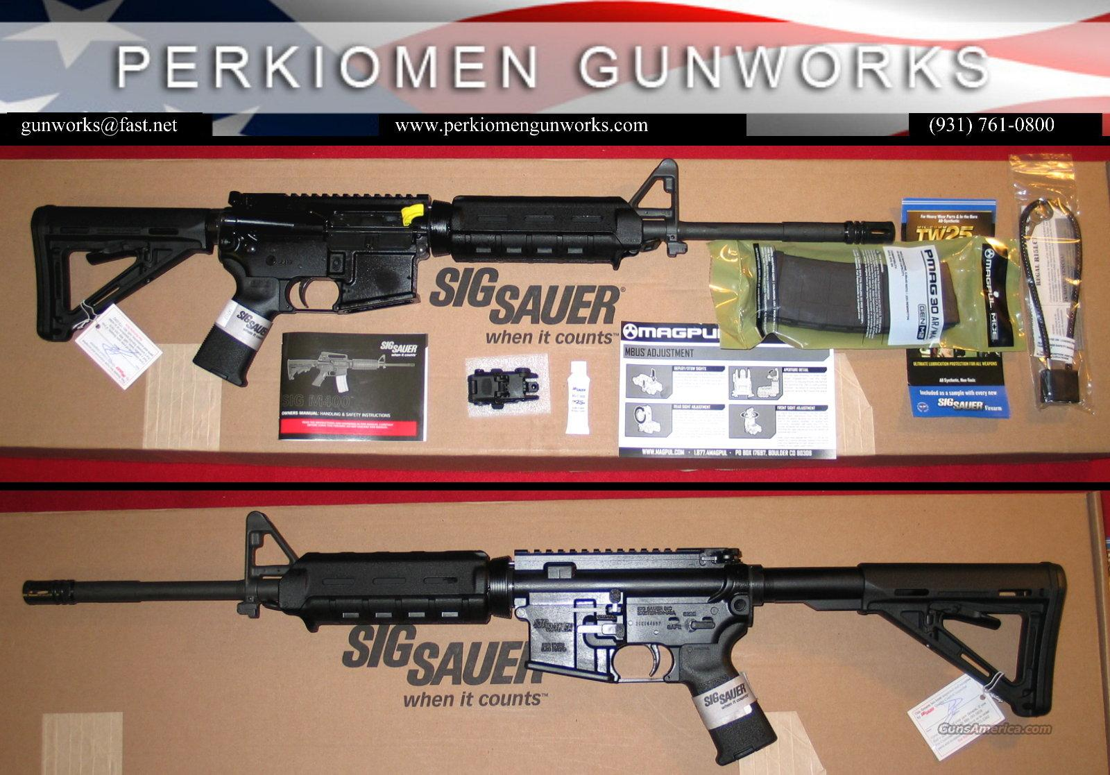 "400 Enhanced RM400-16B-EC, 5.56, 16"" NIB  Guns > Rifles > Sig - Sauer/Sigarms Rifles"