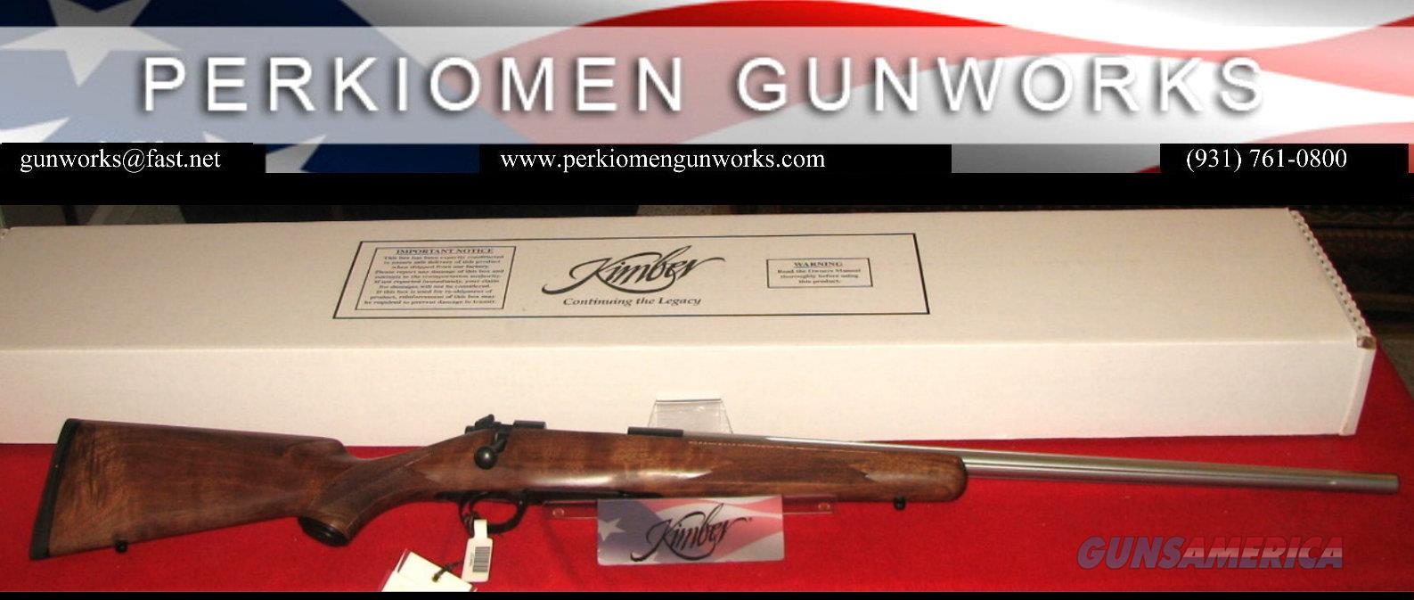 84M Longmaster Classic in .308 Win, New in Box  Guns > Rifles > Kimber of America Rifles