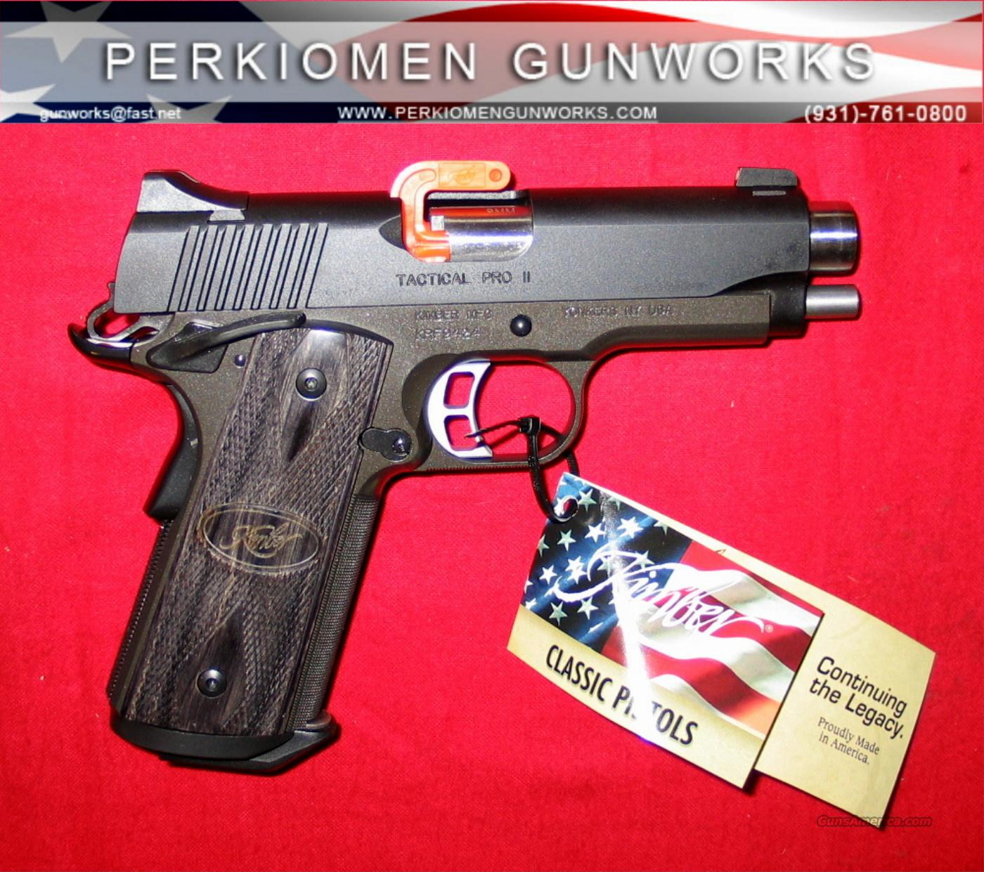 "Tactical Pro 9MM, 4"", New in Box  Guns > Pistols > Kimber of America Pistols"
