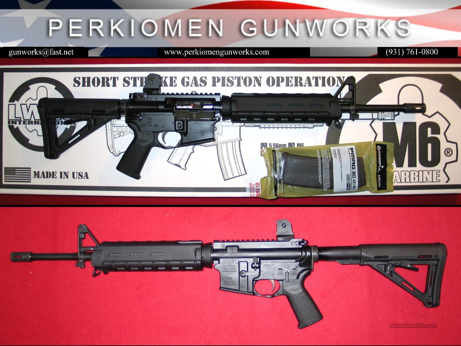 LWRC M6-SL, 5.56 STR-LW AR M4 Carbine  Guns > Rifles > AR-15 Rifles - Small Manufacturers > Complete Rifle