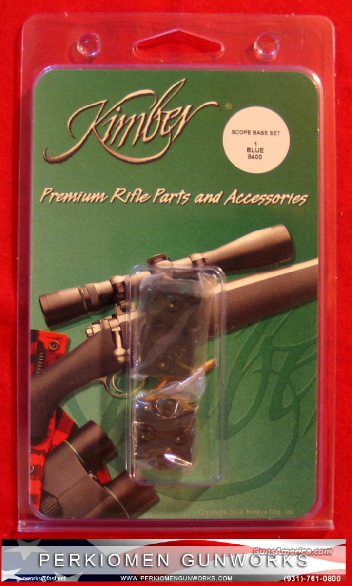 Kimber 8400 Matt Blue Scope Bases - NIB  Non-Guns > Scopes/Mounts/Rings & Optics > Mounts > Other