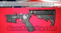 RRA Complete LAR-15 NM Lower Half-Tact stock, w/extras - NEW  Guns > Rifles > Rock River Arms Rifles
