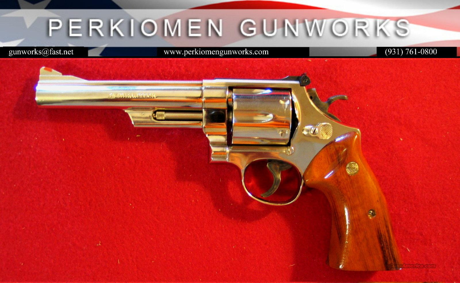 "25-5 Nickel, .45LC, 6"" dates 1982  Guns > Pistols > Smith & Wesson Revolvers > Full Frame Revolver"