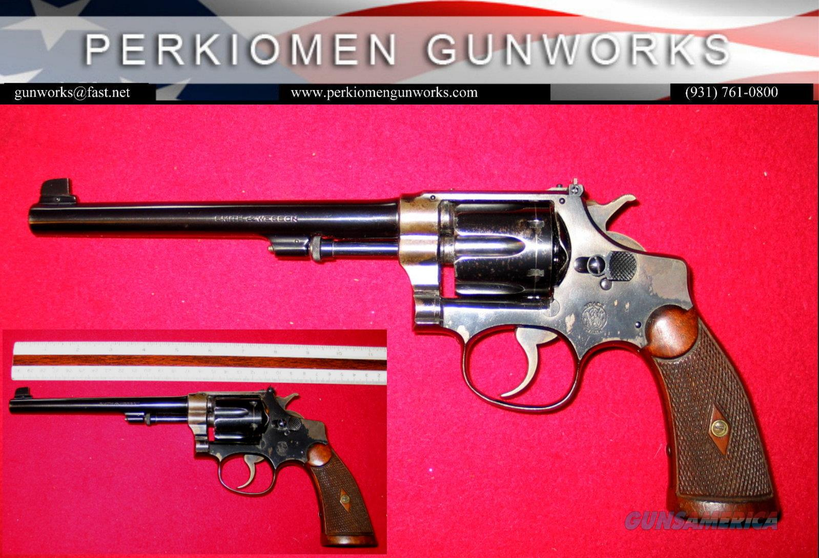 .22/.32 Std. Target .22lr dates about 1924  Guns > Pistols > Smith & Wesson Revolvers > Pre-1945