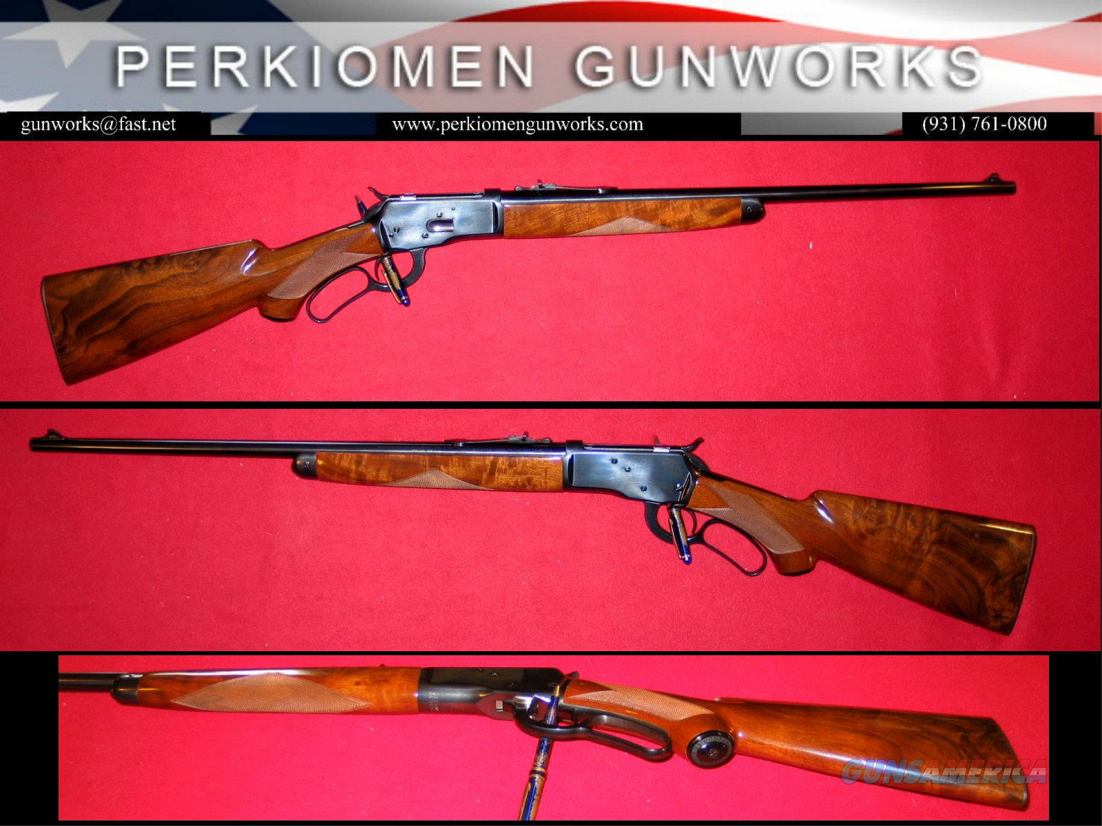 M-53 Deluxe Limited Edition .32-20 lever action rifle  Guns > Rifles > Browning Rifles > Lever Action