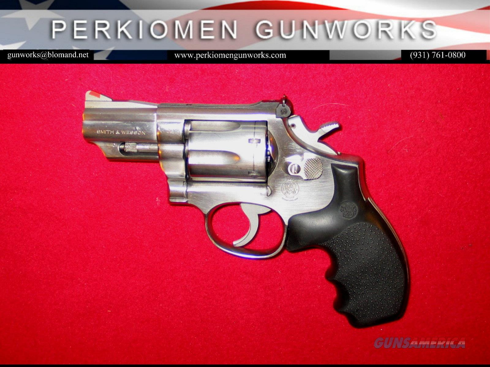 "M-66-1, 2.5 inch, .357/38, ""The .357 Combat Magnum Stainless""  Guns > Pistols > Smith & Wesson Revolvers > Med. Frame ( K/L )"