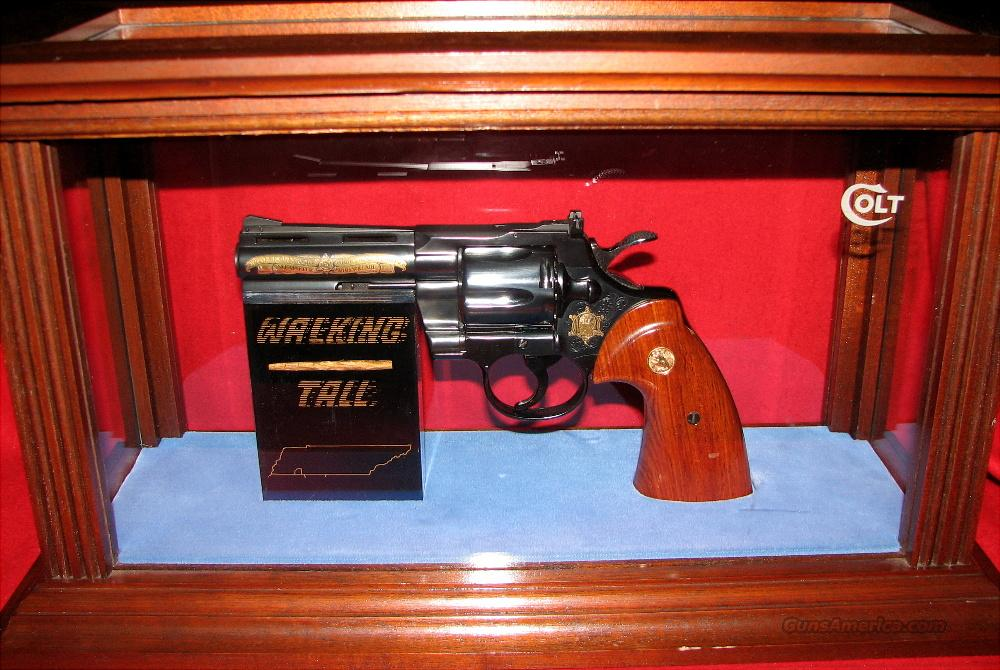 Colt Python 357 Mag 4 Inch Buford Pusser Wal For Sale