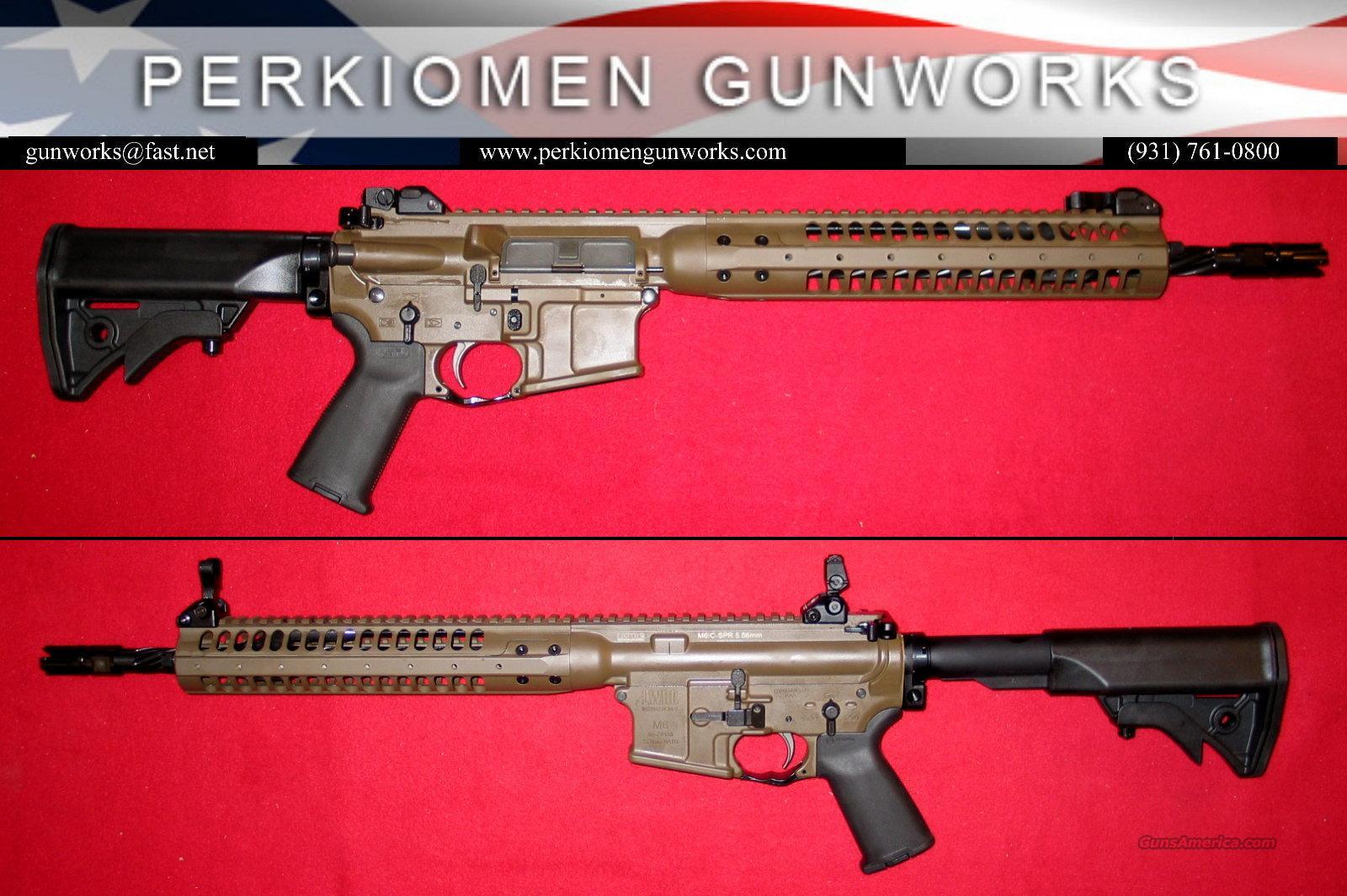 "LWRC M6A2 SPR, 5.56, 14.7"", Patriot Brown, NIB / Final Close-Out Price.  Guns > Rifles > AR-15 Rifles - Small Manufacturers > Complete Rifle"