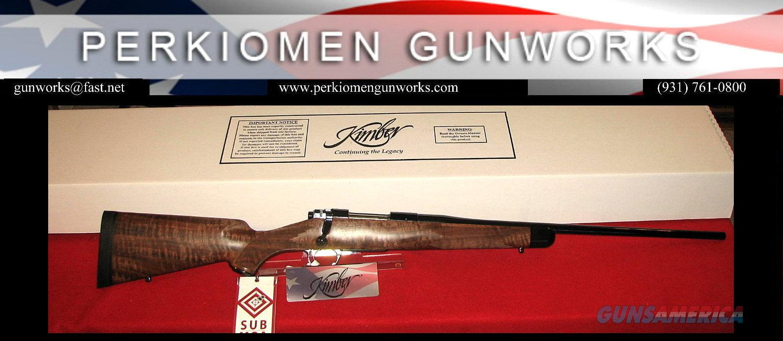 84M Super America 7mm-08 Rem, 22', New in Box  Guns > Rifles > Kimber of America Rifles