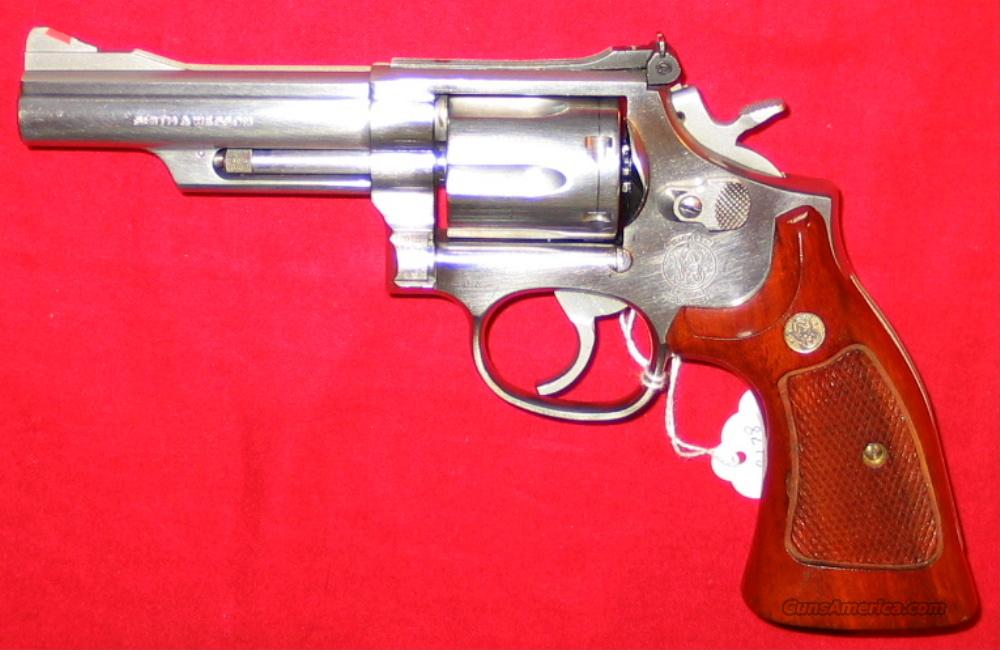 "66-3 4"" SS 1990 gun  Guns > Pistols > Smith & Wesson Revolvers > Full Frame Revolver"