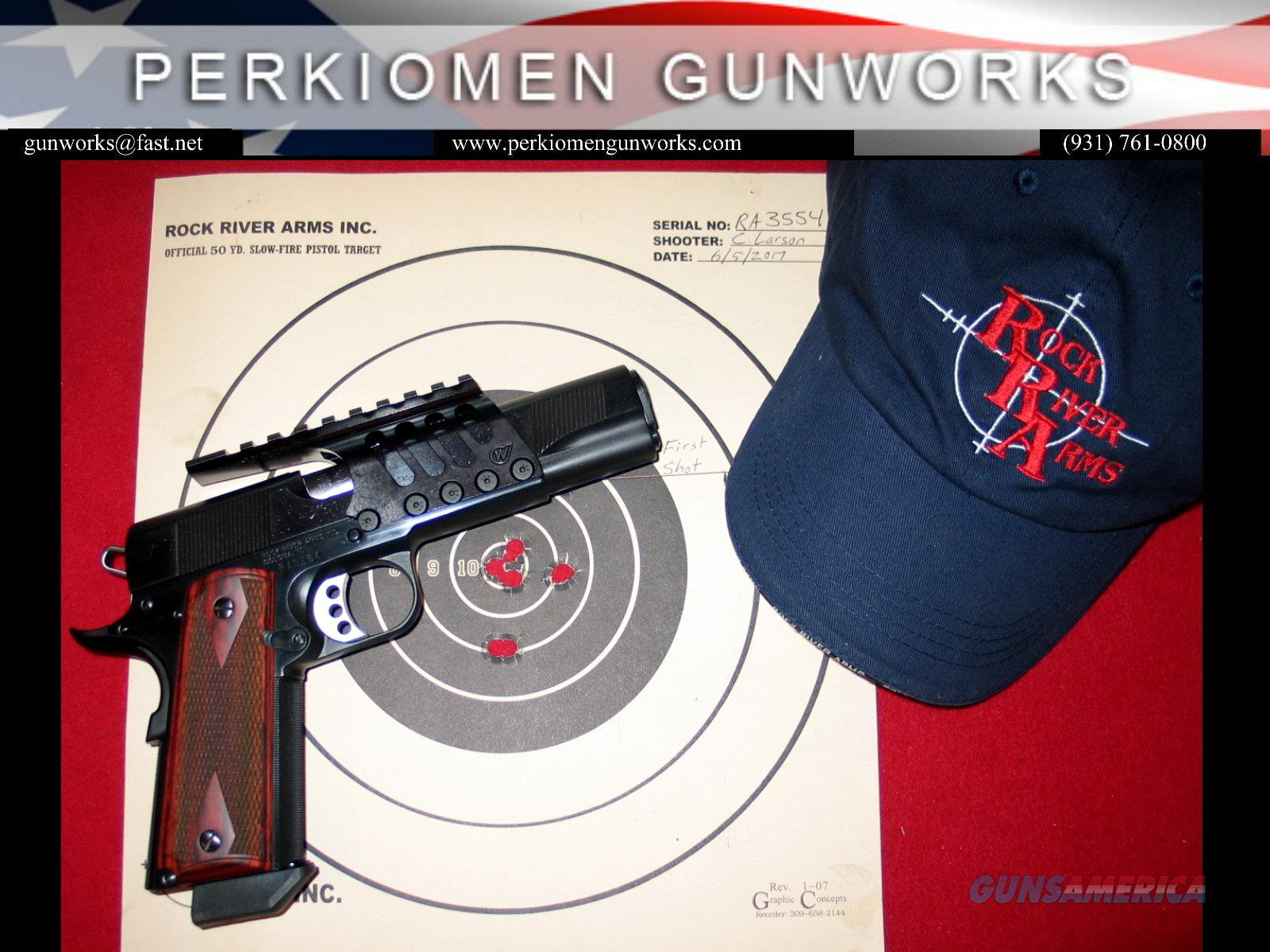 Bullseye Wadcutter w/ Weigand Frame Mount, 45acp, New in Box  Guns > Pistols > Rock River Arms Pistols