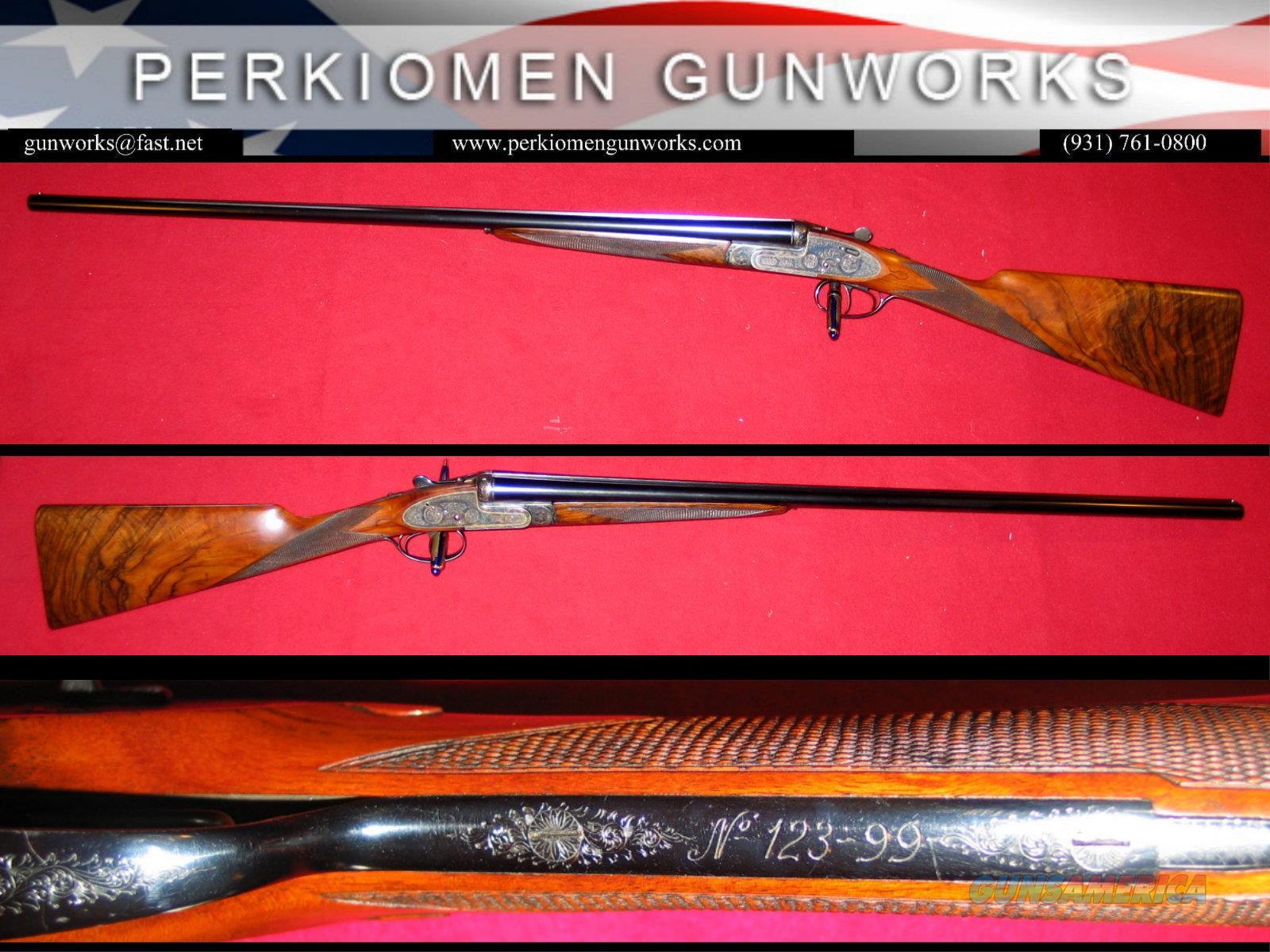 Armas Garbi Model 103A SxS sidelock 28ga shotgun, 29 inch IC/Mod  Guns > Shotguns > Garbi Shotguns