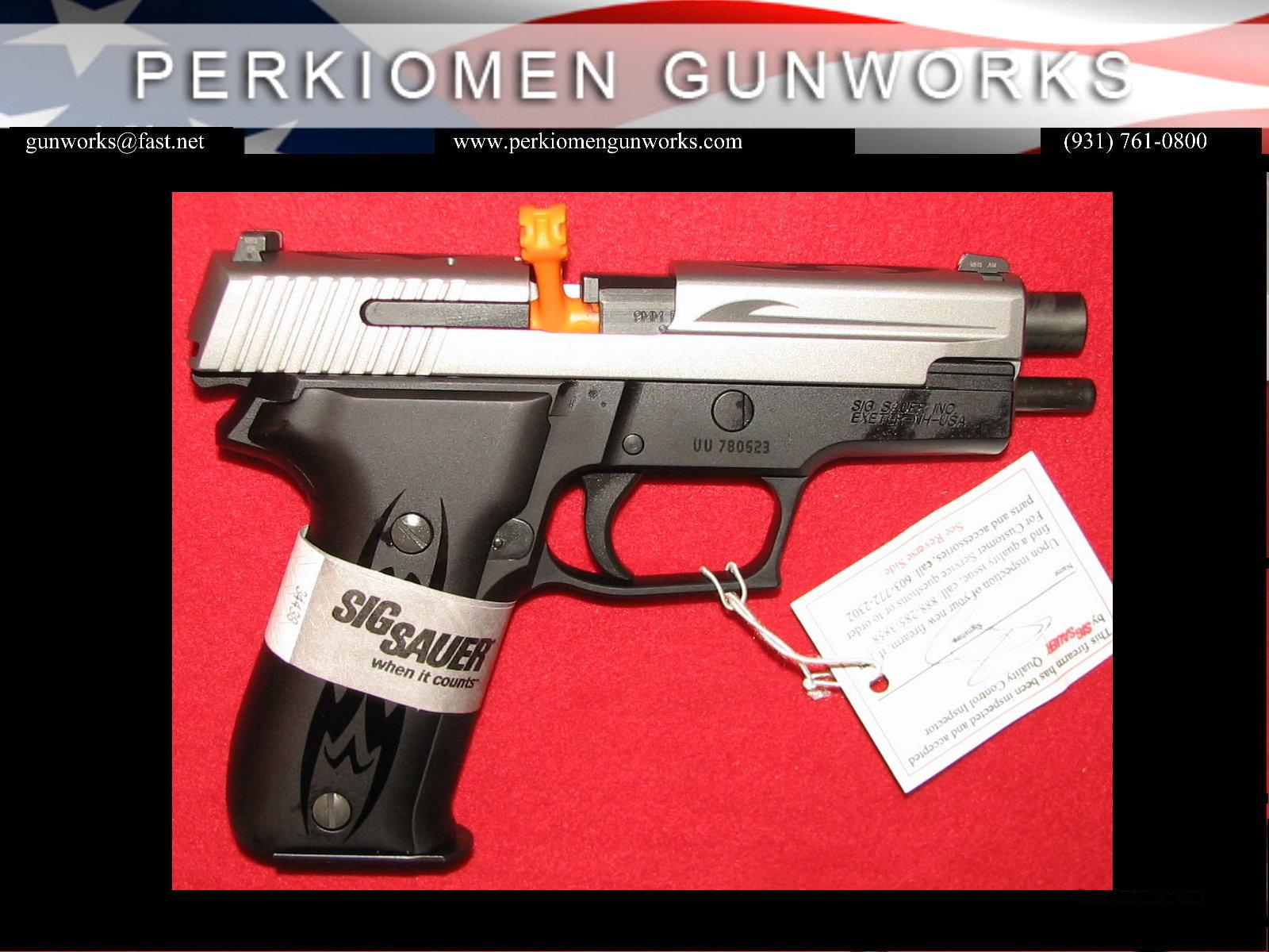 226 Tribal, Two-Tone, 9mm,w/ Night Sights, NIB - E26-9-TSS-Tribal / *SPECIAL SALE*  Guns > Pistols > Sig - Sauer/Sigarms Pistols > P226