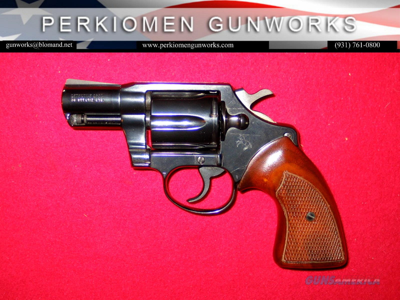"Detective Special (3rd) .38 Special, 2 "", Bl, dates 1975, UNFIRED  Guns > Pistols > Colt Double Action Revolvers- Modern"