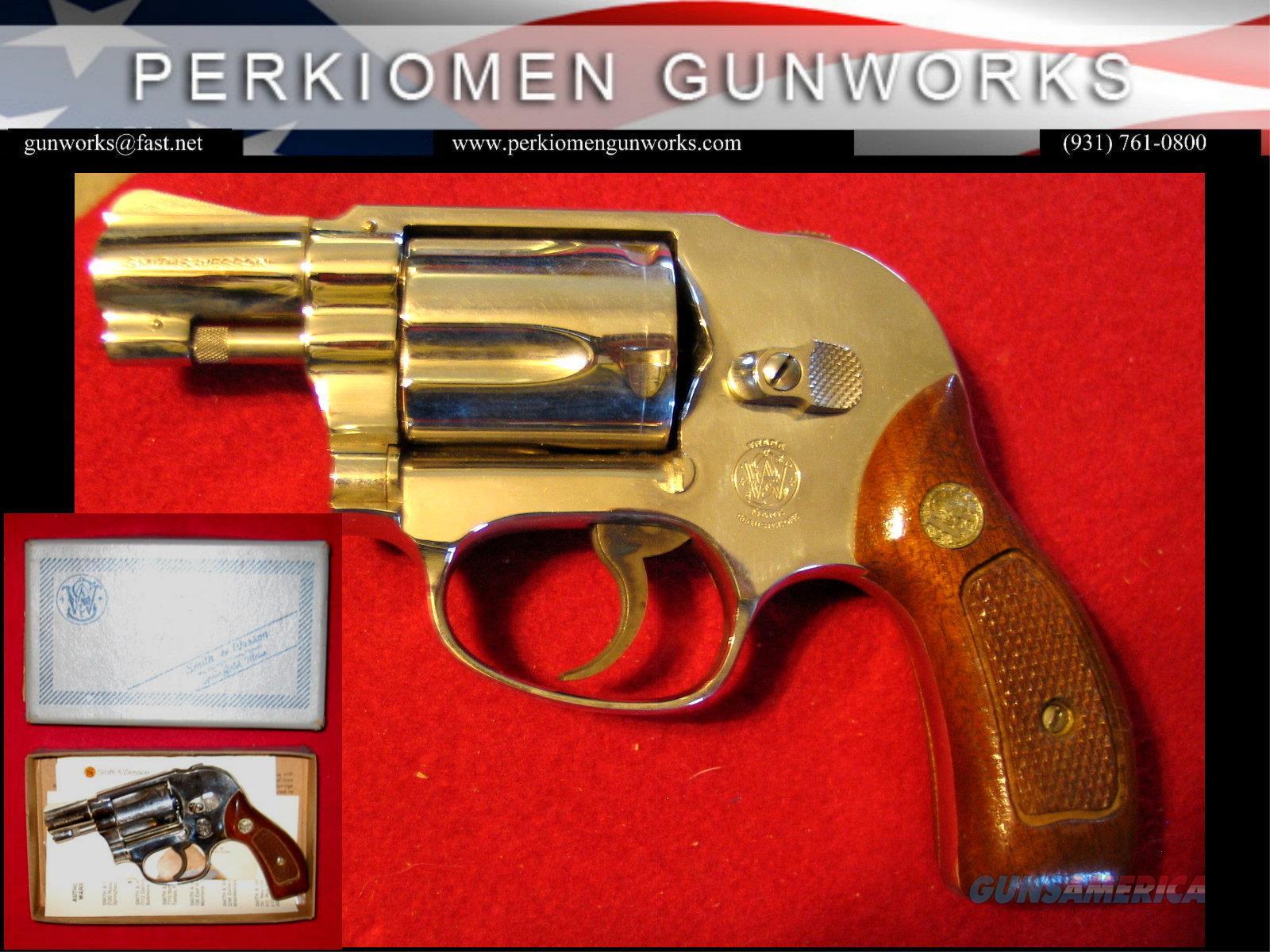 "M-49 ""Bodyguard"" 2"" NICKEL .38Spec. As NIB  Guns > Pistols > Smith & Wesson Revolvers > Small Frame ( J )"