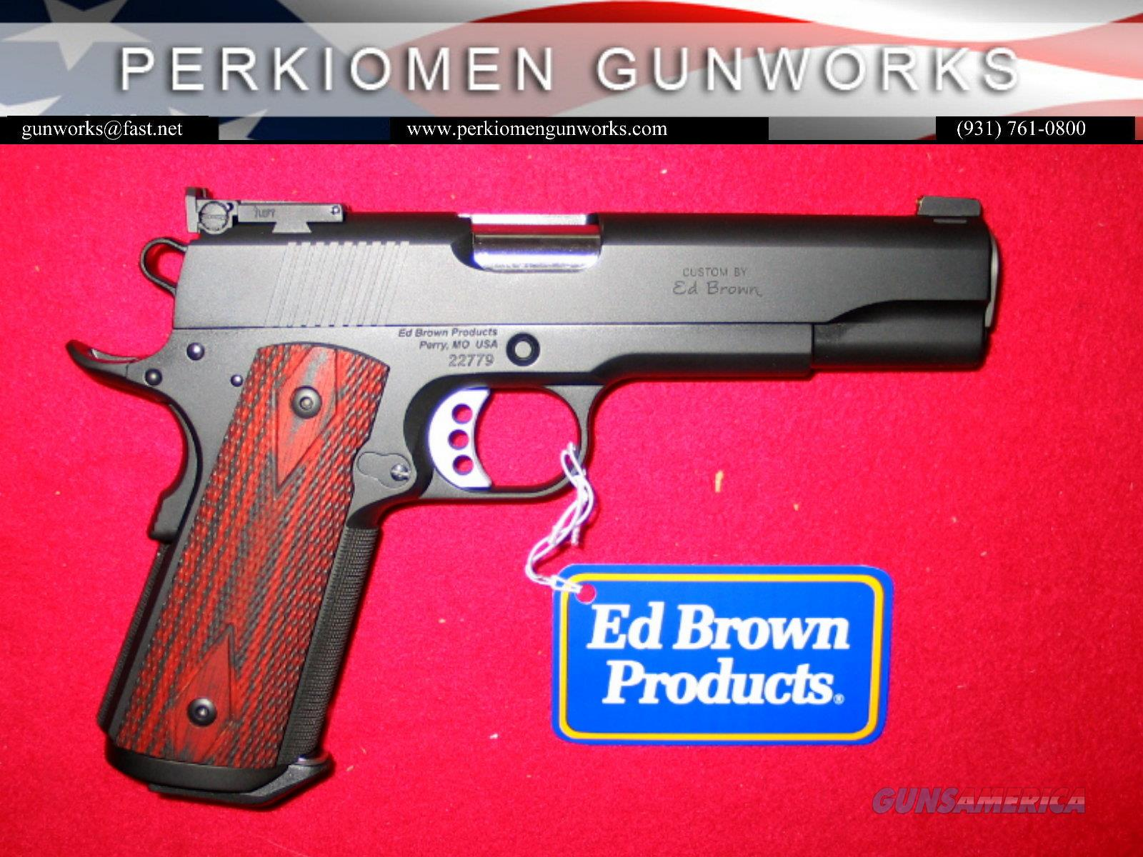 "Executive Target Custom 45acp, 5"", w/Upgrade Options - New in Box  Guns > Pistols > Ed Brown Pistols"