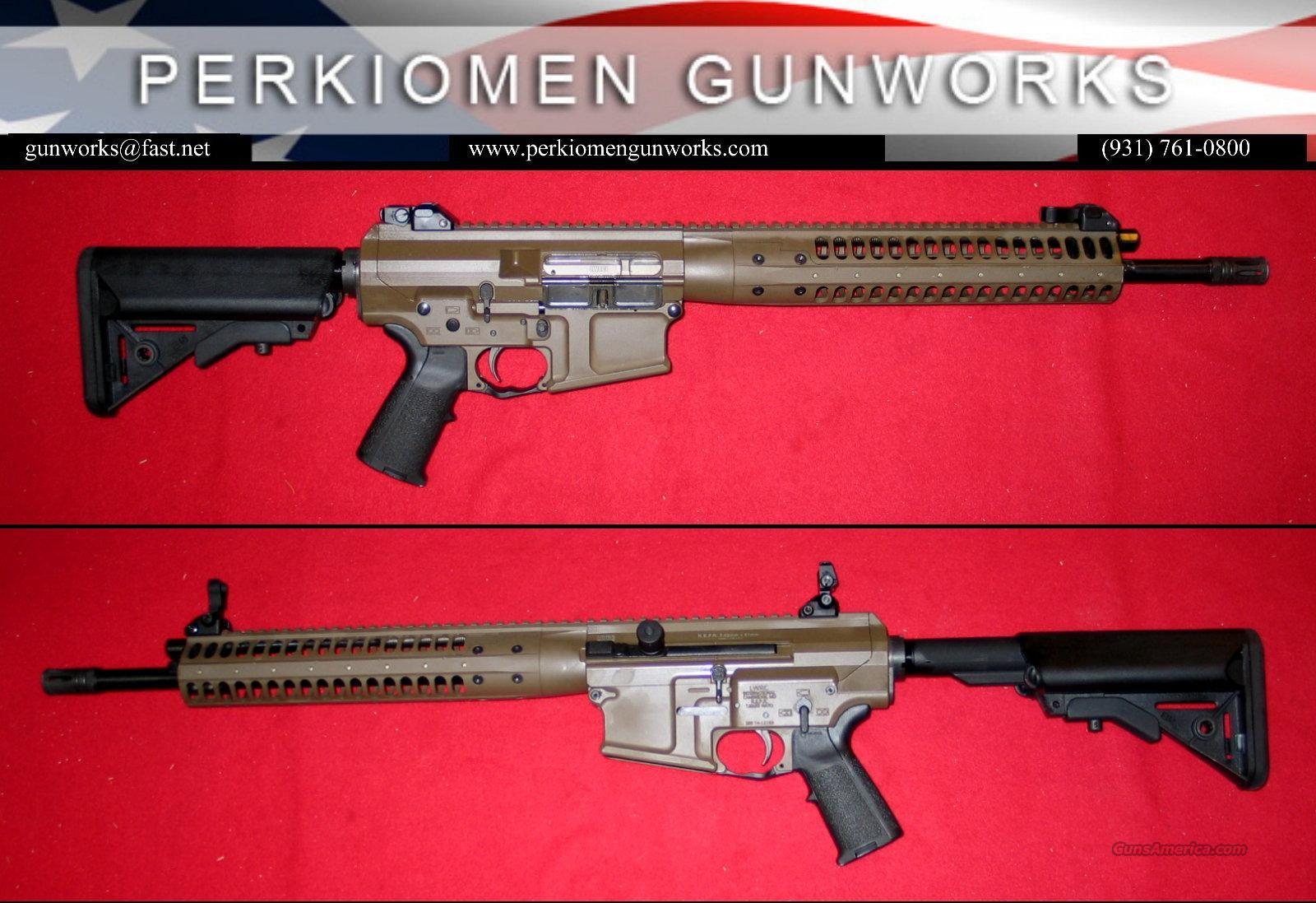 "LWRC REPR 7.62/.308 16.1"" Patriot Brown - New in Box  Guns > Rifles > AR-15 Rifles - Small Manufacturers > Complete Rifle"