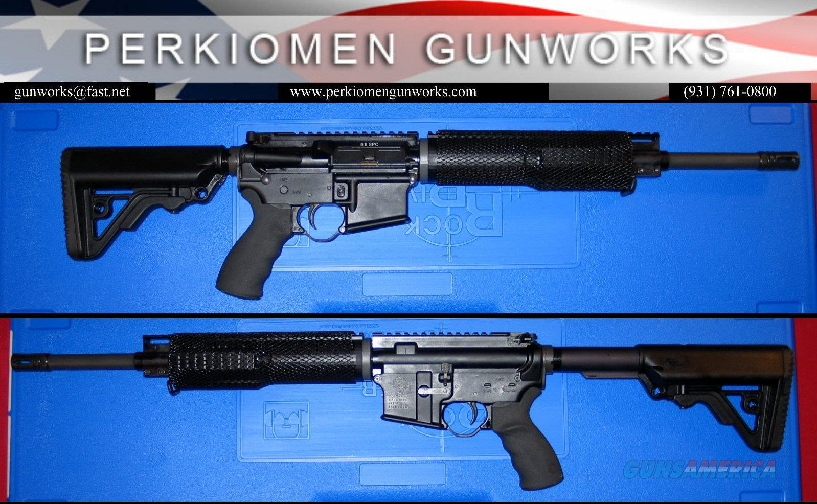 6.8 Mid A4 Rifle w/Options - New in Hard Case  Guns > Rifles > Rock River Arms Rifles