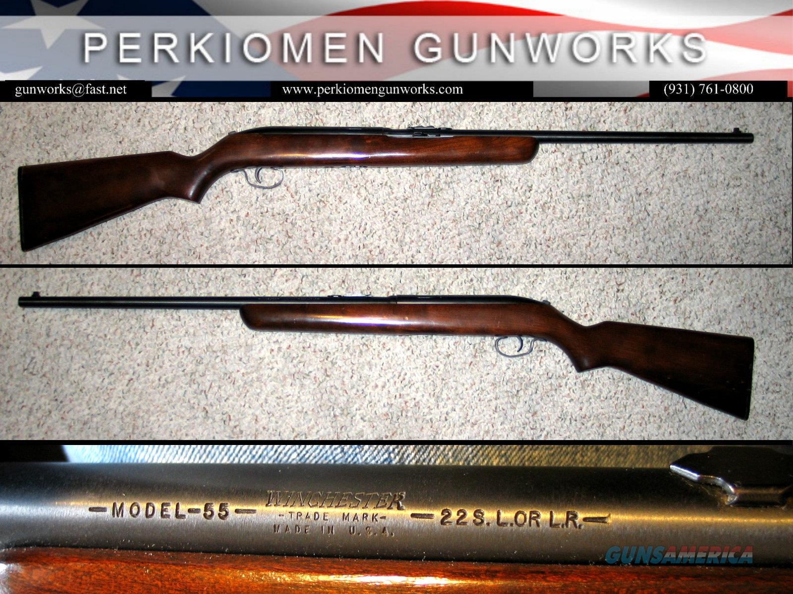 WINCHESTER - MODEL 55 .22 S,L,LR Single-Shot Automatic, C&R OK   Guns > Rifles > Winchester Rifles - Modern Bolt/Auto/Single > Single Shot