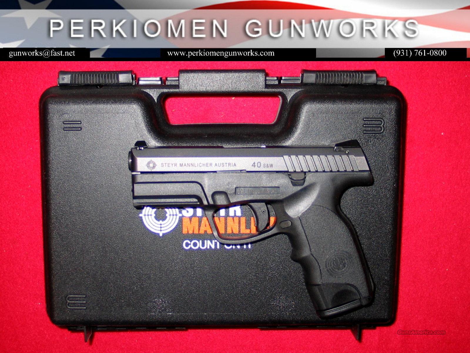"M40-A1, 40S&W, 4""- NIB w/2mags  Guns > Pistols > Steyr Pistols"