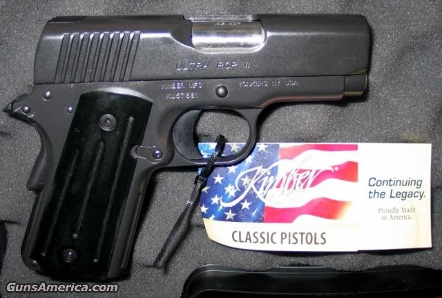 RCP II 45acp Ltd Issue - NIB  Guns > Pistols > Kimber of America Pistols