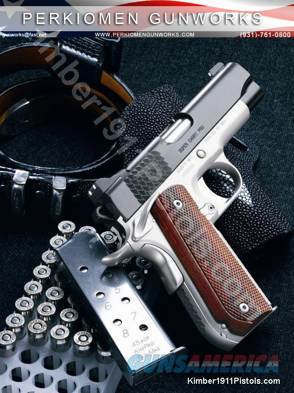 "Super Carry Pro, 45acp, 4"", New in Box  Guns > Pistols > Kimber of America Pistols"