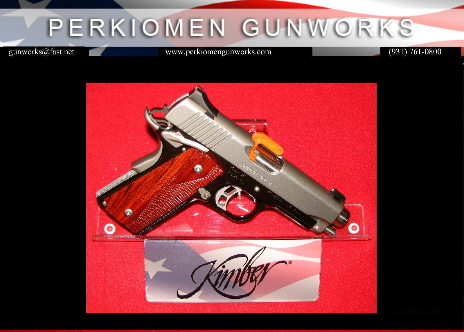 "Compact CDP II, 45acp, 4"", New in Box.  Guns > Pistols > Kimber of America Pistols"