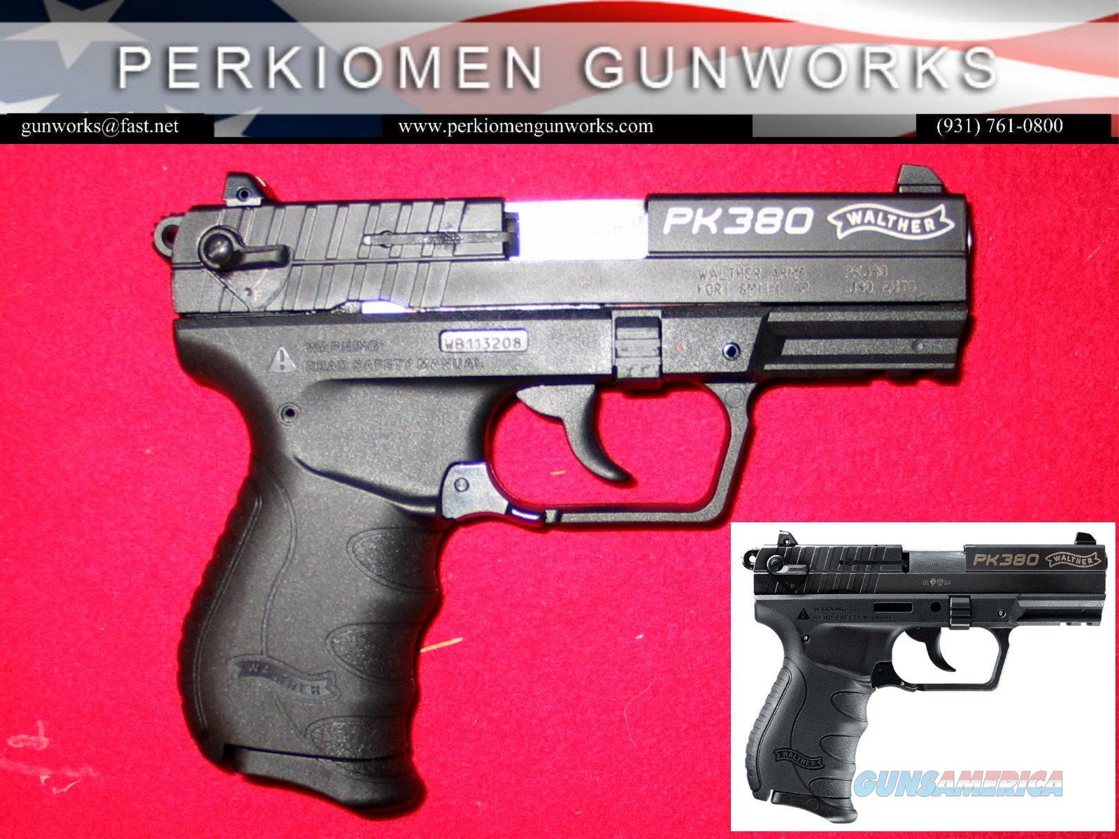 "PK380 .380acp, 3.66"" Like New - Save!!!  Guns > Pistols > Walther Pistols > Post WWII > PK380"