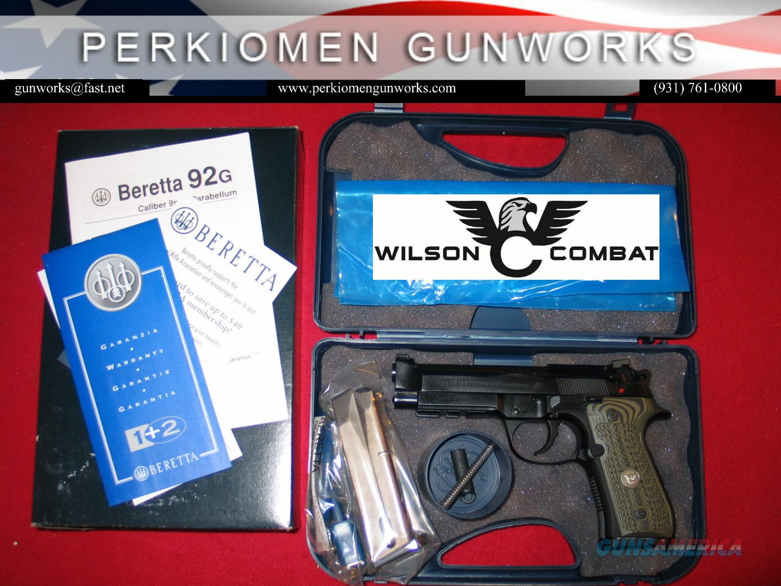 Beretta/Wilson Combat 92G BRIGADIER TACTICAL 9MM   Guns > Pistols > Beretta Pistols > Model 92 Series
