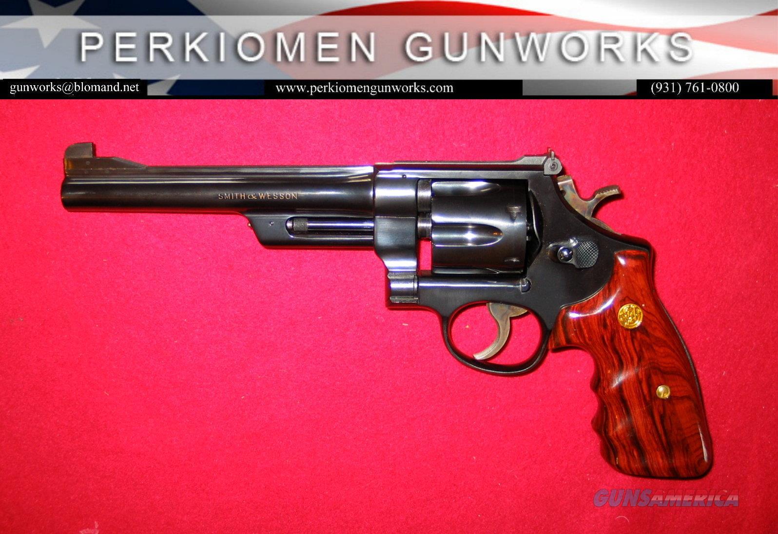 ".38/44 Outdoorsman Model of 1950 ""Pre-23"", .38 Special  Guns > Pistols > Smith & Wesson Revolvers > Full Frame Revolver"
