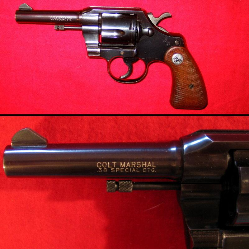 Marshal Model .38 Special  Guns > Pistols > Colt Double Action Revolvers- Modern