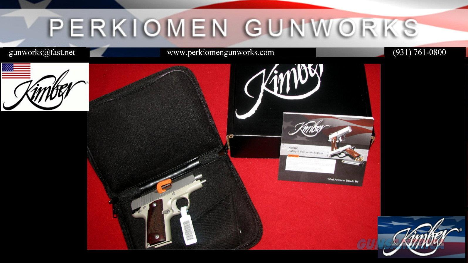 Micro 380 STS Rosewood .380acp New for 2016 (Retirement - Closeout pricing.)  Guns > Pistols > Kimber of America Pistols > Micro