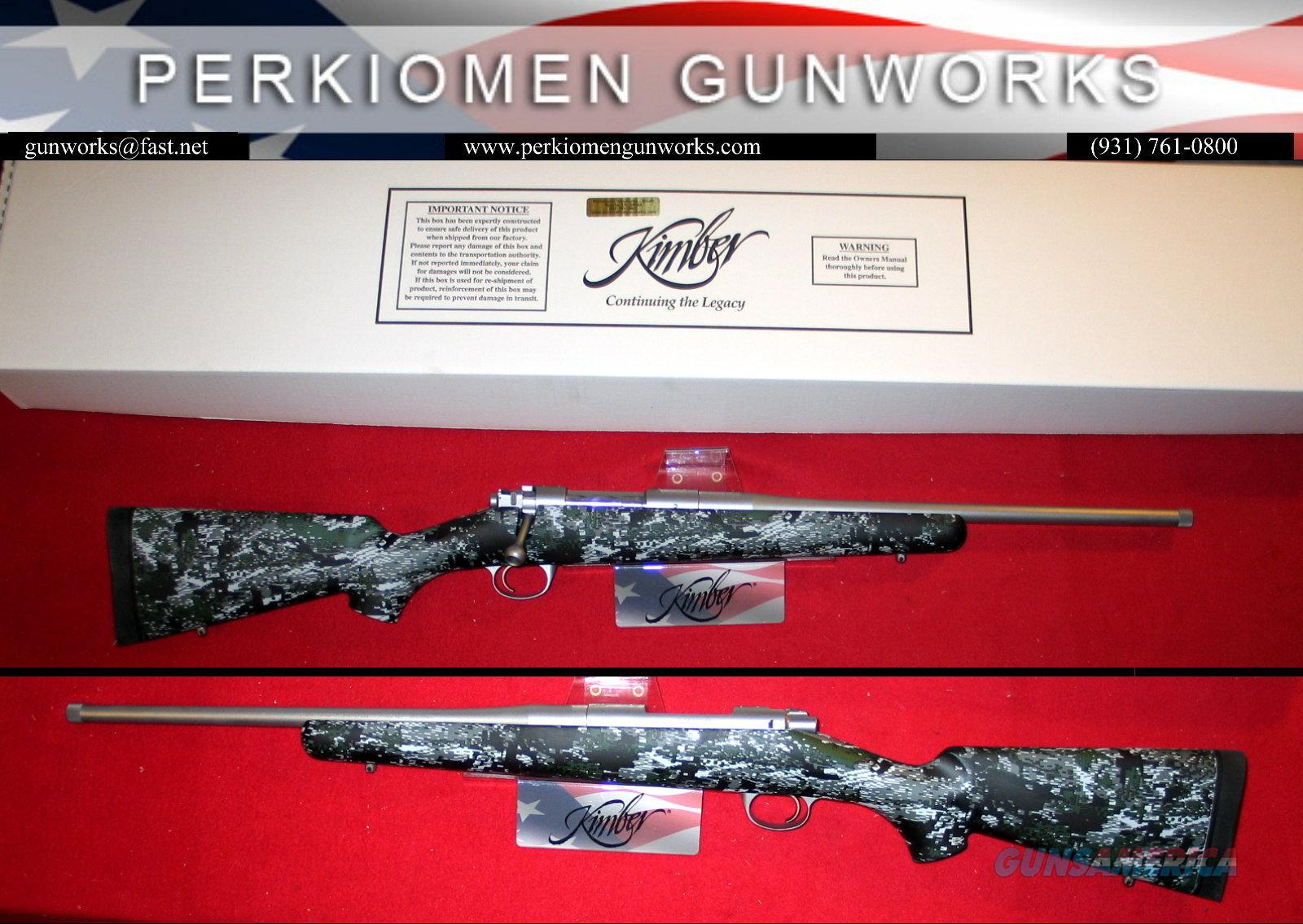 "84M Adirondack Super Light Bolt Rifle in 7MM-08, 18"" bbl, NIB  Guns > Rifles > Kimber of America Rifles"