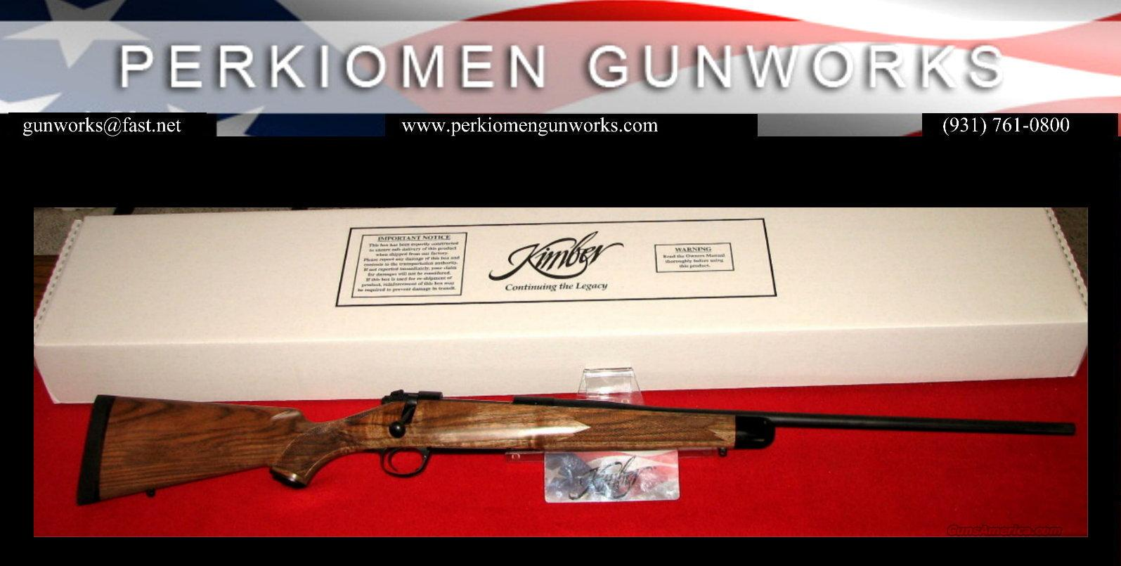 "84L Classic Select .270 Win, French Walnut, 24"", New in Box  Guns > Rifles > Kimber of America Rifles"