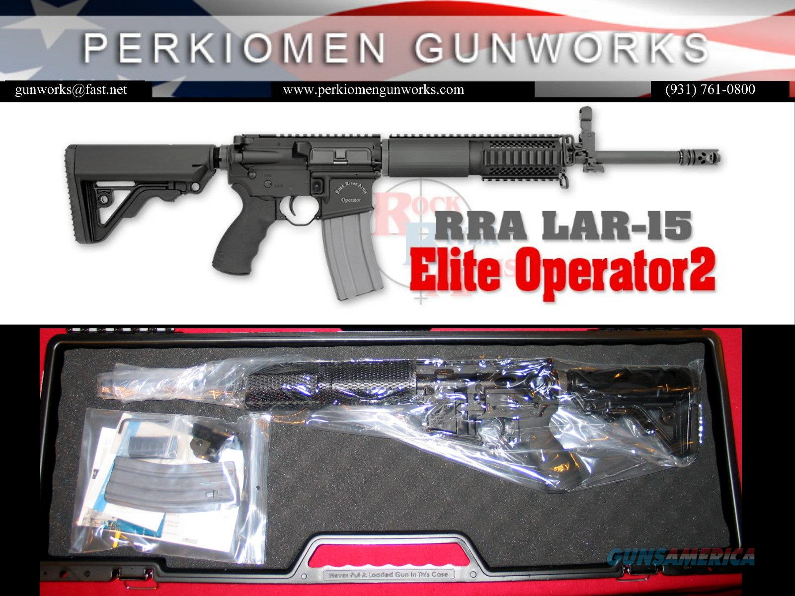Elite Operator 2, LAR-15, 5.56 with FREE RRA Stand Alone Rear Sight - New in Case  Guns > Rifles > Rock River Arms Rifles