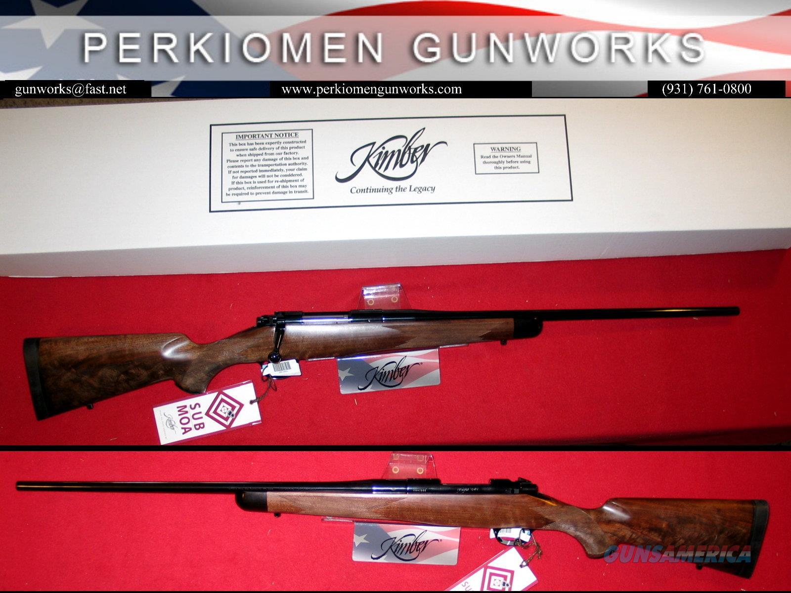 84M SUPER AMERICA 7mm-08 Rem, New in Box  Guns > Rifles > Kimber of America Rifles