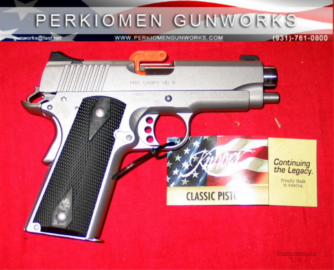 "Pro Carry HD, 4"", .45ACP - Heavy Duty - New in Box  Guns > Pistols > Kimber of America Pistols"