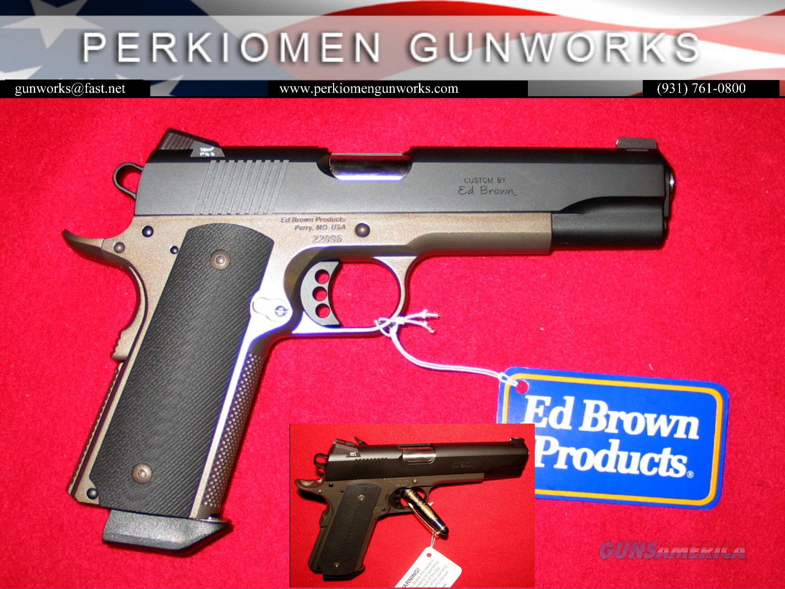 """Special Forces Battle Bronze Edition, Stainless Steel, Gen 4 finish, 45acp, 5"""", NEW  Guns > Pistols > Ed Brown Pistols"""