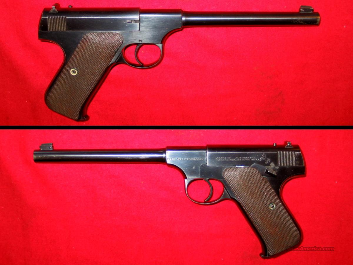 Woodsman 1st Issue Target  Guns > Pistols > Colt Automatic Pistols (22 Cal.)
