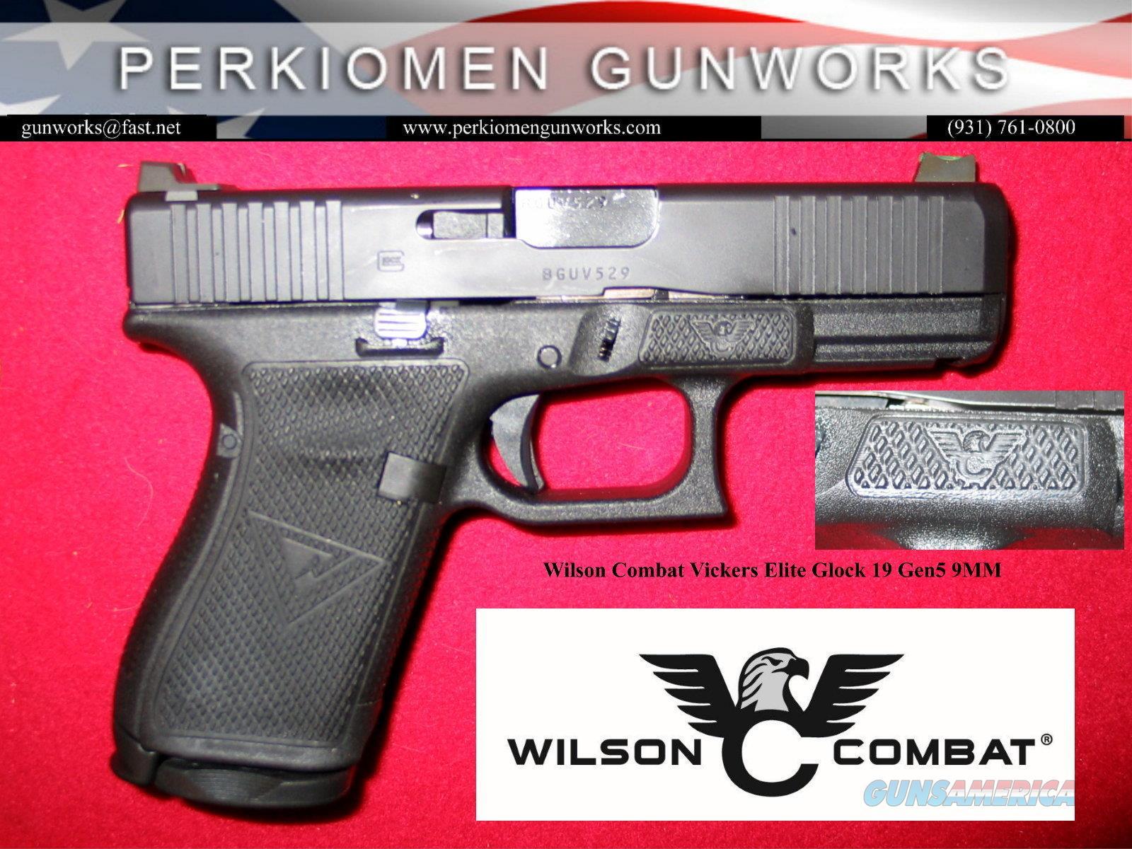 Wilson Combat - Vickers Elite GLOCK 19, Gen 5, 9mm, NIB  Guns > Pistols > Glock Pistols > 19/19X