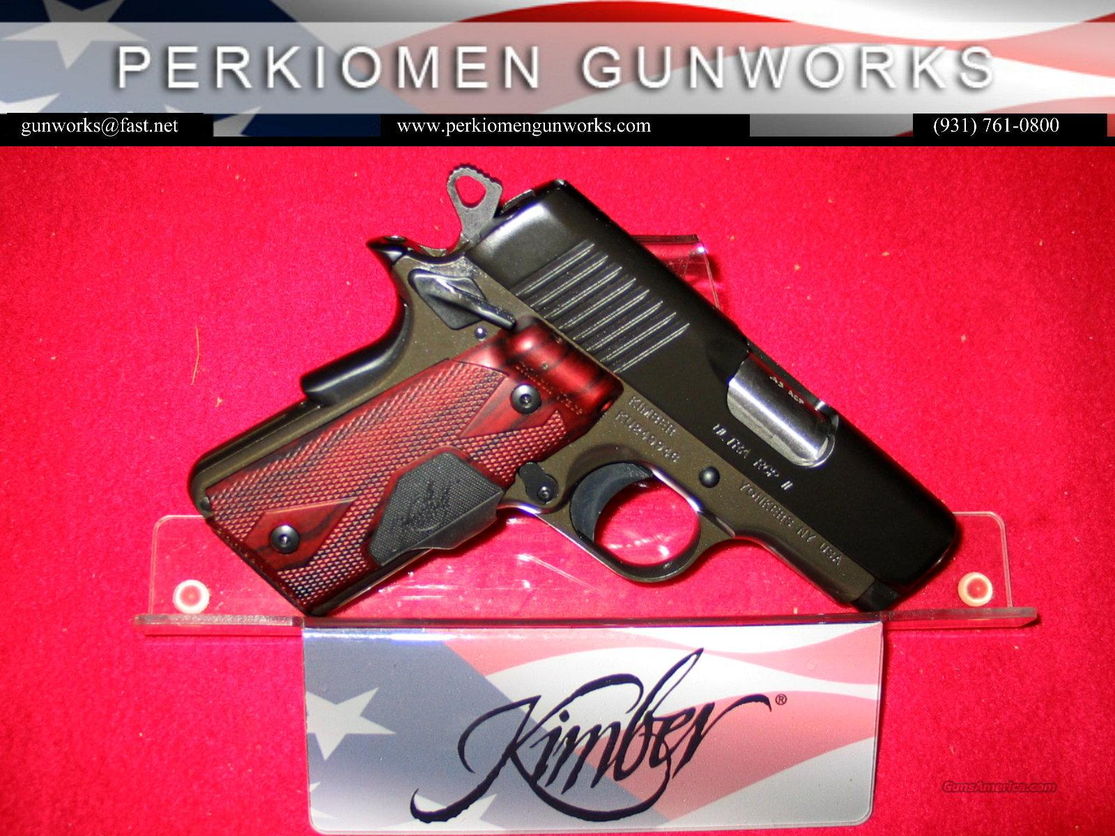 "Ultra RCP II (LG) Laser Grip 45acp,3"", 2014 Summer Collection  Guns > Pistols > Kimber of America Pistols"