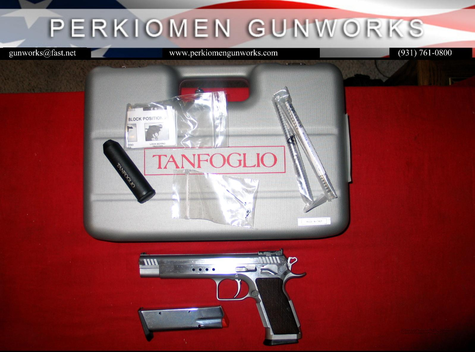 "Tanfoglio / IFG Bulls Eye Gold Match, 5.9"", SS NIB  Guns > Pistols > EAA Pistols > Other"